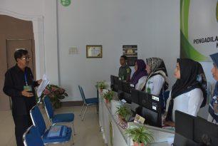 Audit Eksternal Akreditasi Penjaminan Mutu APM serta Pembinaan dan Pengawsan oleh PT Malut di PN Sanana