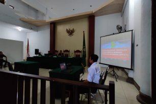 Sosialisasi Sistem Peradilan Pidana Terpadu berbasis Teknologi Informasi SPPT-TI