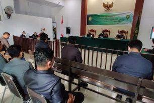 Closing Meeting Assesment Eksternal Akreditasi Penjaminan Mutu (APM) Pengadilan Negeri Sanana