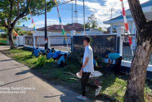 Kerja Bakti Jum'at Bersih Pengadilan Negeri Sanana