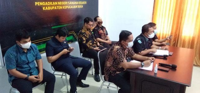 """Kegiatan """"Sapa Pengadilan"""" Oleh DitJen Badilum pada Pengadilan Negeri se-Wilayah Maluku Utara"""