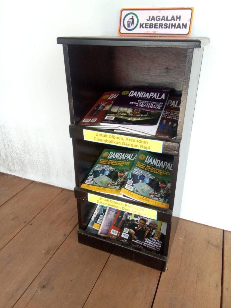 Majalah Bacaan Ruang Tunggu