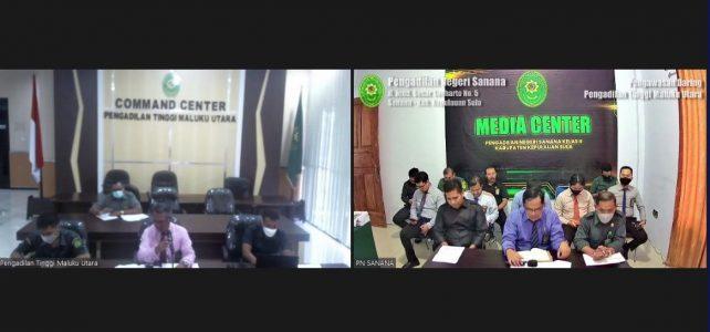 Pengawasan Daring oleh Pengadilan Tinggi Maluku Utara
