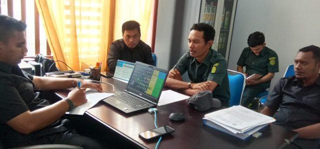 Rapat Internal Berjenjang Kesekretariatan Pengadilan Negeri Sanana